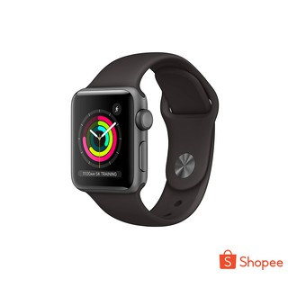 Apple Watch Series 3 38mm GPS, Space Grey Aluminum, Black Sport Band
