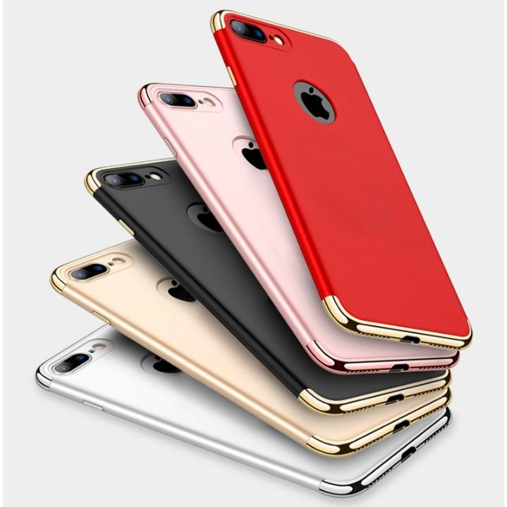 Ốp 3 mảnh iPhone đủ tất cả các mã 5-5S-6-6,6SPlus-7,7Plus,8,8 Plus,X - Hàng chuẩn - Màu sắc nét