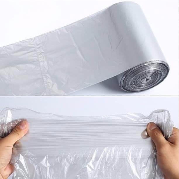 Cuộn 110 chiếc túi đựng rác thông minh bền dai chất liệu tự tiêu hủy