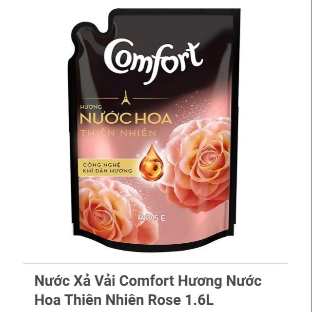 Nước xả vải Comfort thiên nhiên túi 1,5L