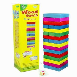 Bộ đồ chơi rút gỗ loại lớn