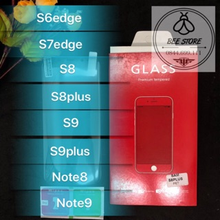 [ Rẻ Vô Địch] 2 Miếng Cường lực nano không màu,không bám vân tay cho s7 Edge/S8/S8+/Note 8/ S9/S9+