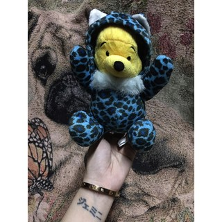 Gấu bông Pooh cosplay Báo thumbnail