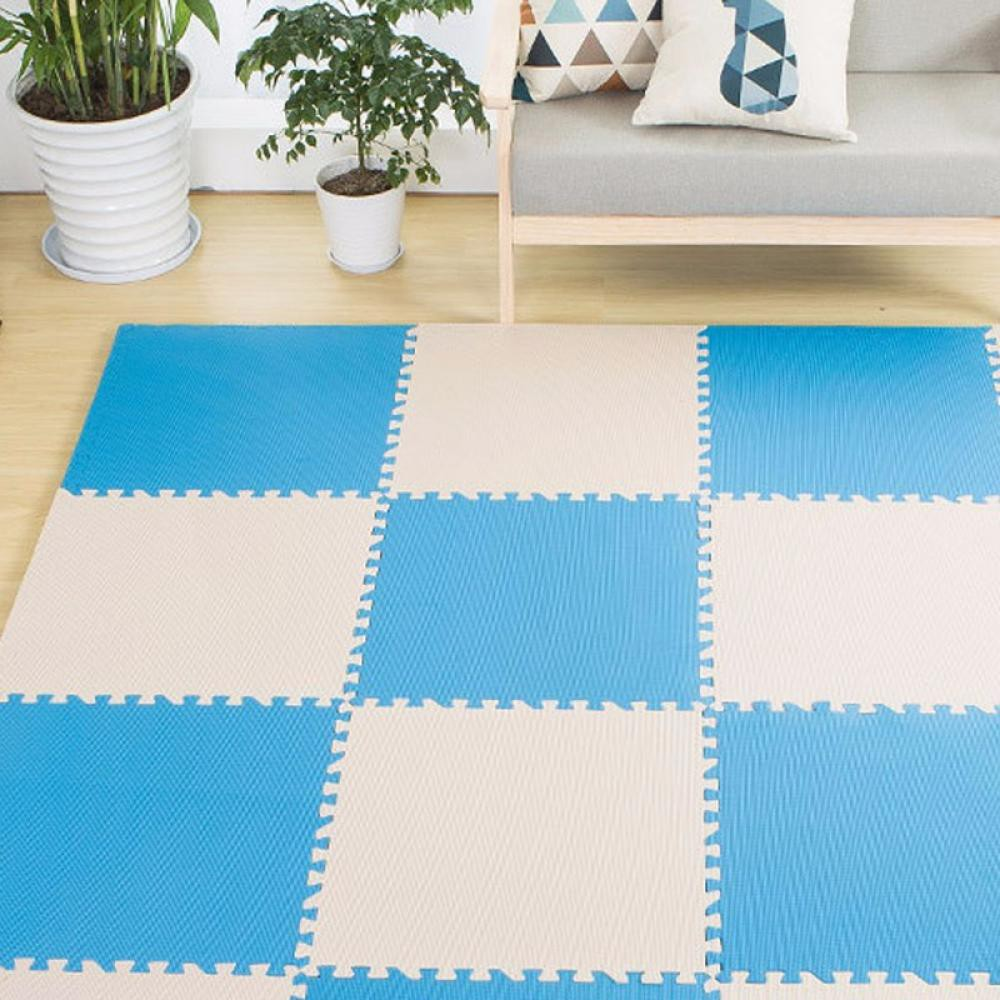 Plain Color Soft Floor Play Puzzle Mats Health For Baby 30cm x30cm(over 9pcs can ship)