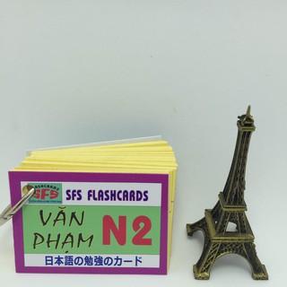 Bộ thẻ tiếng nhật văn phạm N2 thumbnail