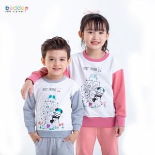 Áo sweater Beddepkids Clothes chất nỉ da cá dày dặn cho bé trai, bé gái U06 thumbnail
