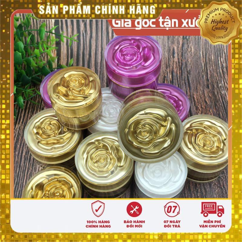 Hủ chiết mỹ phẩm hoa hồng 5g/10g - hủ đựng mỹ phẩm