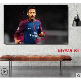 Poster decal dán tường cầu thủ Neymar