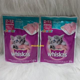 Pate cho mèo con pate Whiskas 85gr - Dành cho mèo 2-12 tháng tuổi thumbnail