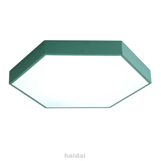 Bedroom Study European Style Ultrathin Porch Hexagon Ceiling Light