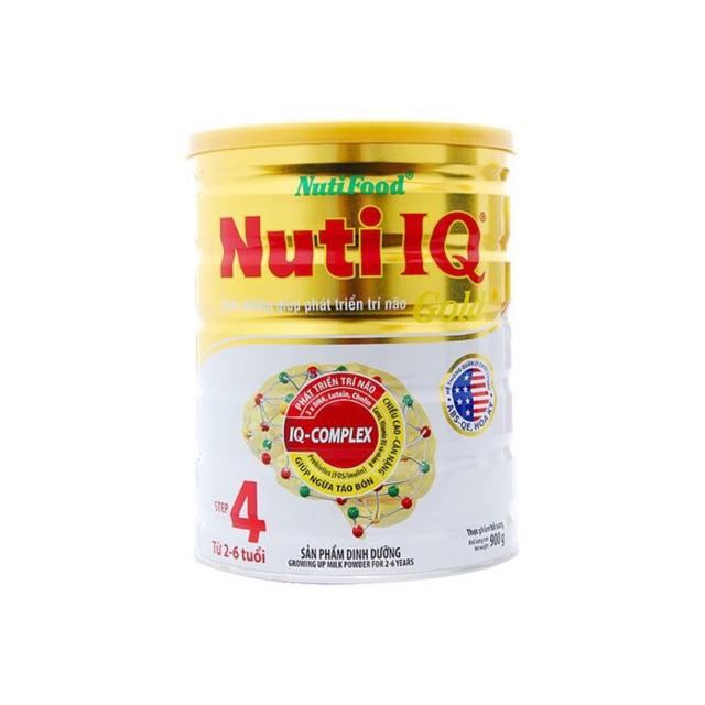 Sữa nuti iq 4 900g cho bé từ 2-6 tuổi