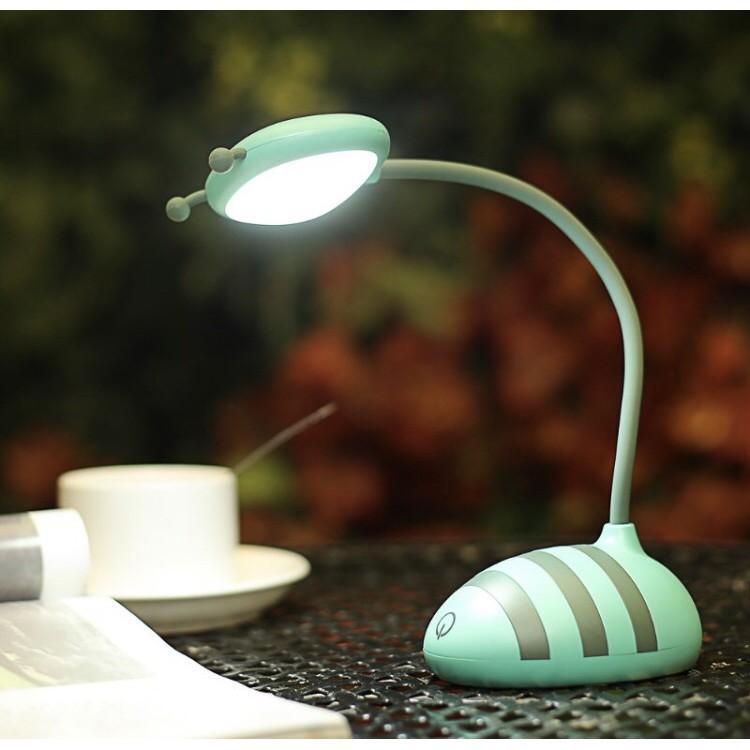 Đèn học để bàn hình ốc sên đáng yêu