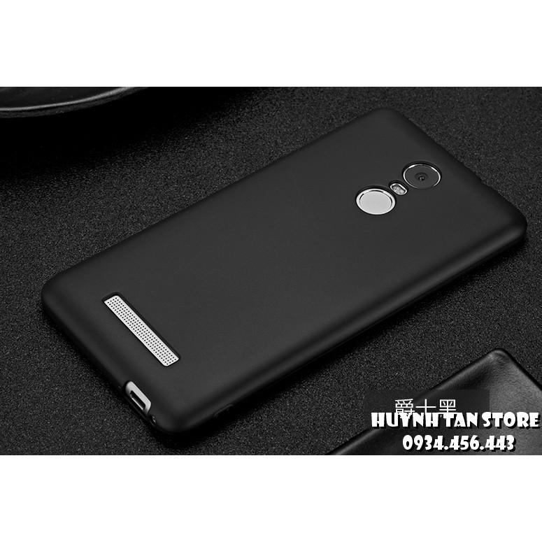 Ốp Xiaomi Redmi Note 3/ Note 3 Pro tpu Màu Đen