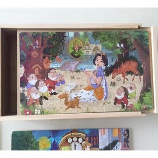 Puzzle 12-24-36-48 mảnh ghép