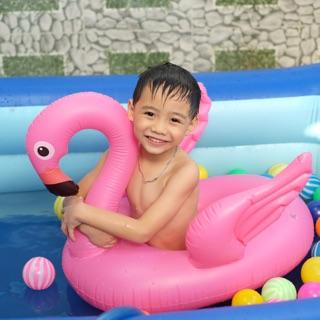Phao bơi trẻ em hình thú chống lật cho bé-phao xỏ chân hình Hồng Hạc