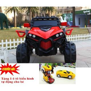 (M109) Xe ô tô điện trẻ em Địa Hình JL-588