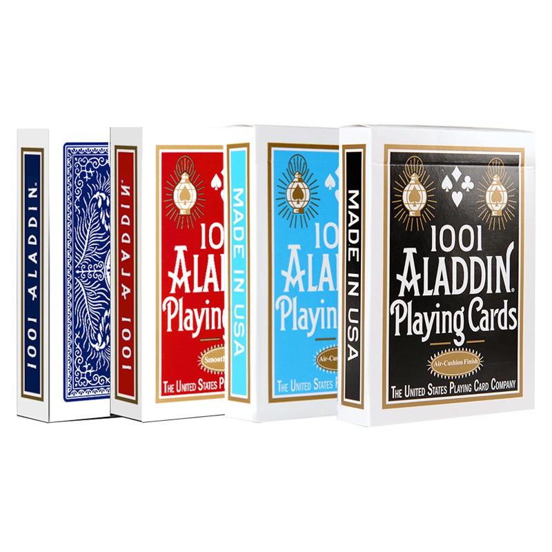 Bài ảo thuật USA CAO CẤP CHÍNH HÃNG: Alladin Playing Cards ( 4 màu) – bài Poker – Bộ bài ảo thuật – Bài biểu diễn