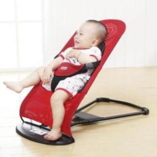 Ghế nhún tạo rung lưới thoáng khí gối đầu - ghế rung nhún đa năng cho bé nằm chơi , ngủ , uống sữa thumbnail