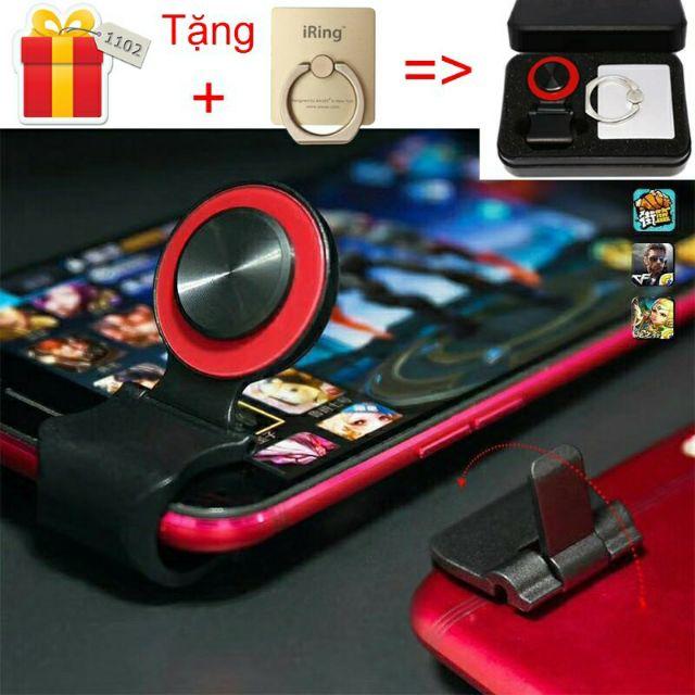 [Mã ELC2C400 hoàn 100K xu đơn 400K]Nút chơi game Joystick Mobile A9 cho điện thoại - Full box tặng kèm Iring