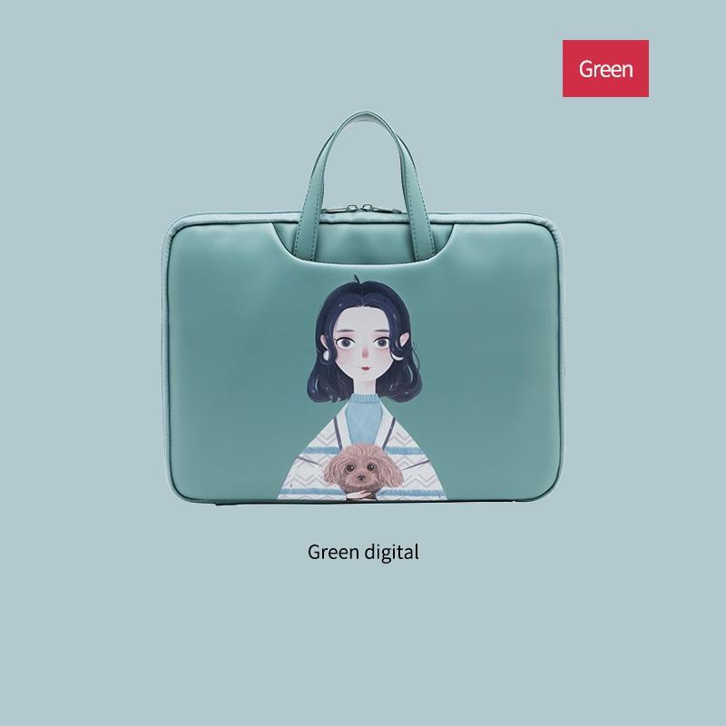 ﹍❐Apple 13.3macair notebook Tank bag 14 inch 15.6pro cute Lenovo 12 female laptop