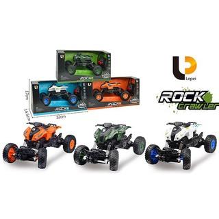 Xe mo hình điều khiển từ xa có 2 đèn chiếu sáng cảnh sát monster truck điều khiển từ xa phù hợp với bé trên 1 tuổi