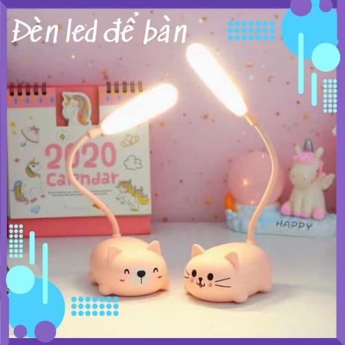 Đèn led để bàn - Đèn để bàn hình thú sạc pin tiện lợi (DLT06)