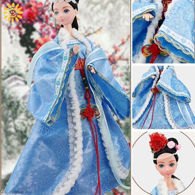 SPsmi Xi Shi Ancient Traditional Traditional Chinese Dolls Vintage Traditional Costume Doll Collection