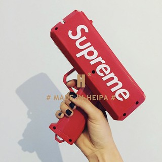 Súng Bắn Tiền Supreme Full Box Tặng Kèm 100 Tờ Tiền Dolar Supreme