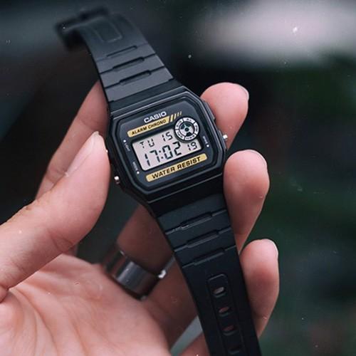 Đồng hồ Casio huyền thoại Nam nữ F-94, F-91, F-201 Chống Nước 5 ATM - Tuổi thọ Pin 7