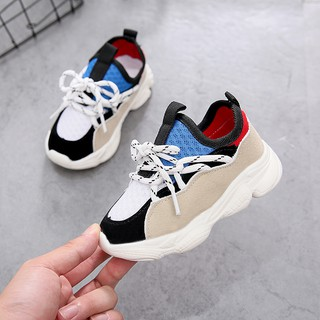 [Xả Lẻ Size] Sỉ Giày Thể Thao Trẻ Em GT254 – Xanh/Hồng – Size 21-30