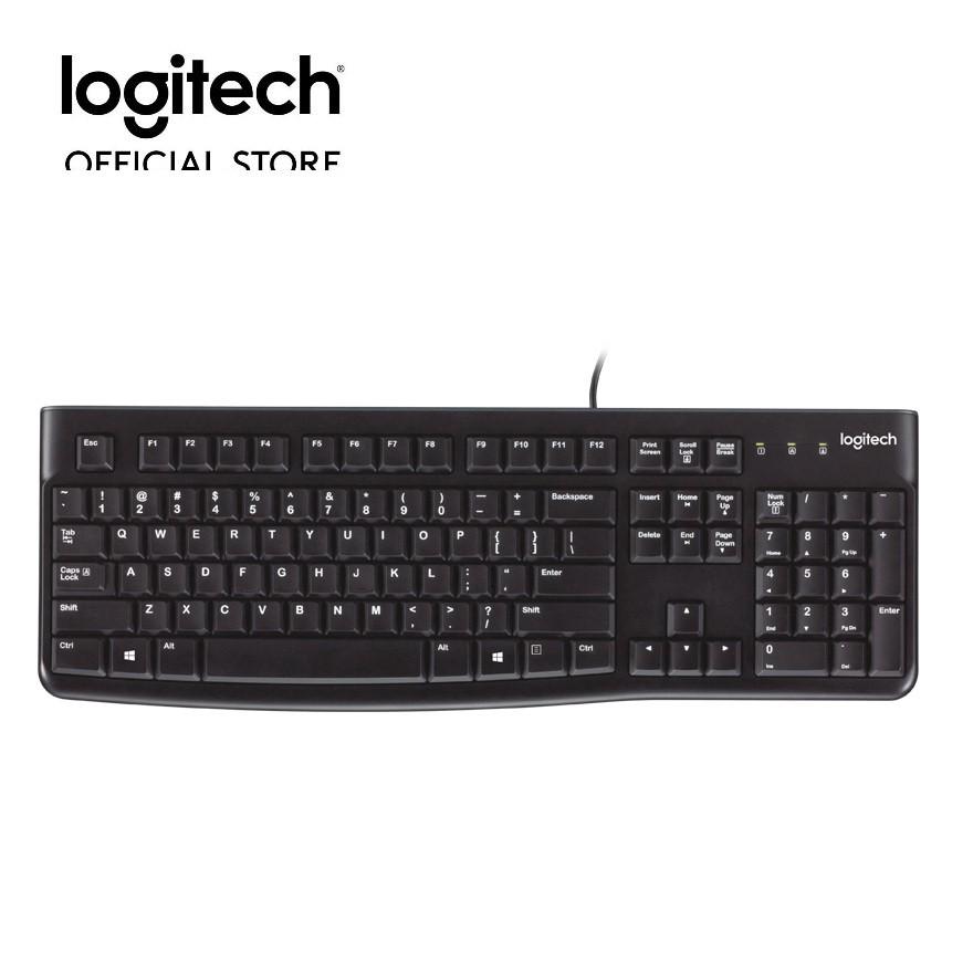 Bàn phím có dây Logitech K120