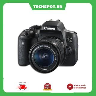 Máy Ảnh Canon 750D + Lens 18-55 IS STM (Lê Bảo Minh) - Techspotvn