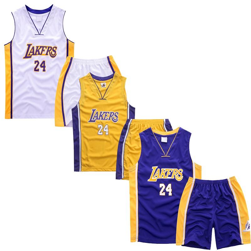 Bộ áo quần bóng rổ L.A. Los Angeles Lakers 24# Kobe Bryant cho bé - 15314440 , 1280589561 , 322_1280589561 , 272000 , Bo-ao-quan-bong-ro-L.A.-Los-Angeles-Lakers-24-Kobe-Bryant-cho-be-322_1280589561 , shopee.vn , Bộ áo quần bóng rổ L.A. Los Angeles Lakers 24# Kobe Bryant cho bé