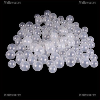 AYC 50pcs/lot Baby Safety Transparent White Plastic Pool Ocean Balls Funny Toys