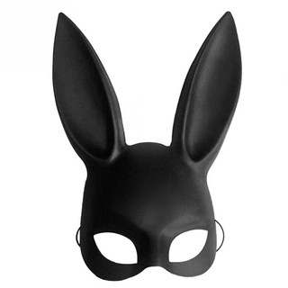 New Masquerade Bunny Rabbit Mask Adult Sexy Halloween Costume Accessory Prop