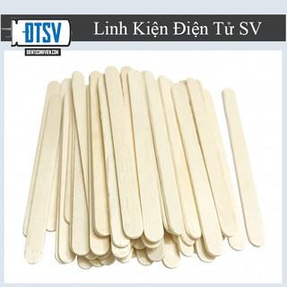 Combo 20 Que kem gỗ làm mô hình handmade- Linhkiendientusv.vn