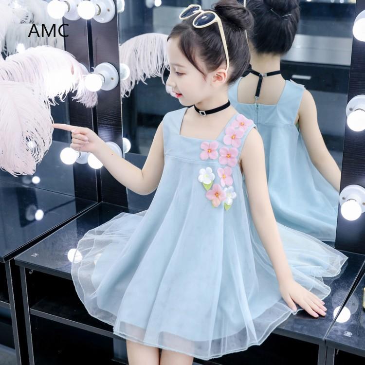 Skirt  Children's skirt  Princess dress Thời Trang Trẻ Em  soft  Small dress Handsome Girl dress  lovely  Floral dress