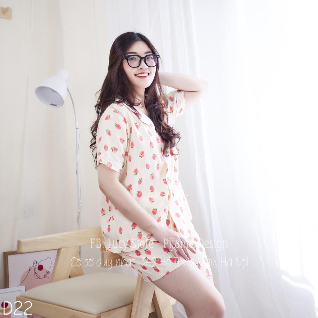 Mặc gì đẹp: Mát mẻ với Đồ Ngủ Pijama Nữ Lụa Đũi Nhập Hàng Thiết Kế Cao Cấp Chất Vải Mềm Mướt Siêu Thoáng Mát Mặc Ở Nhà