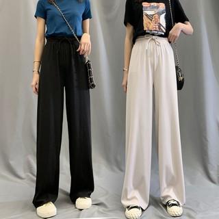 [Nhập WA1025 – giảm 25k đơn 150K] quần dài lưng cao ống rộng phong cách hàn quốc dành cho nữ