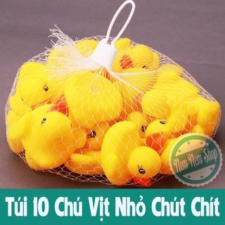 Set 10 Con Vịt Kêu Chíp Chíp Ngộ Nghĩnh An Toàn Cho Bé