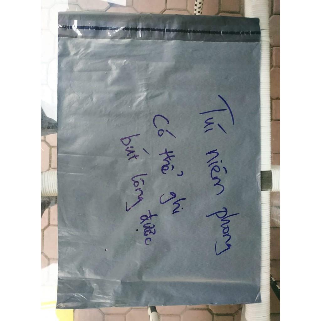 Túi niêm phong giá siêu rẻ, có thể ghi bút lông lên được, đựng quần áo, niêm phong chắc chắn (nửa kg, màu ngẫu nhiên)