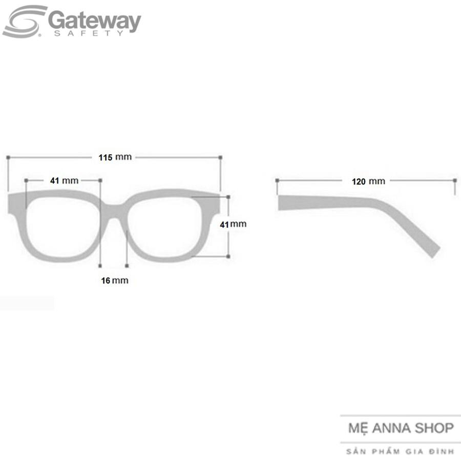 Kính mắt trẻ em Gateway Safety cho bé từ 10 đến 15 kg