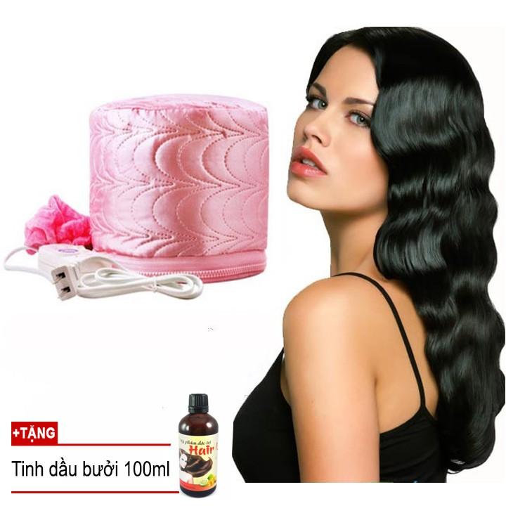 Mũ hấp tóc cá nhân tại nhà Clever Mart + Tặng tinh dầu bưởi 100ml (Hồng) - 2513558 , 246208450 , 322_246208450 , 109000 , Mu-hap-toc-ca-nhan-tai-nha-Clever-Mart-Tang-tinh-dau-buoi-100ml-Hong-322_246208450 , shopee.vn , Mũ hấp tóc cá nhân tại nhà Clever Mart + Tặng tinh dầu bưởi 100ml (Hồng)