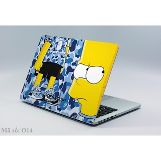 Decal dán laptop Simpson Babe