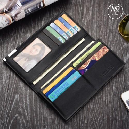 Bóp ví nam dài đẹp phong cách Hàn Quốc, sang trọng, lịch lãm VND06
