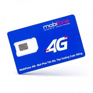 SIM 4G MOBIFONE MIỄN PHÍ 1 NĂM. MỖI THÁNG 4GB. KHÔNG LO NẠP TIỀN!!!