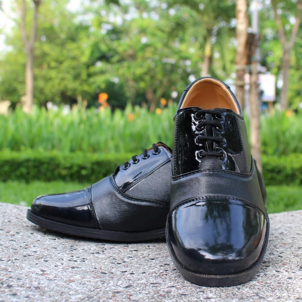 Giày Tây SQ Nam Đen Thời Trang