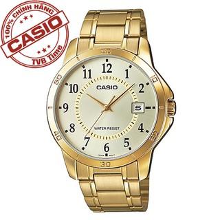Đồng hồ nam dây kim loại Casio Standard chính hãng Anh Khuê MTP-V004G-9BUDF (41mm)