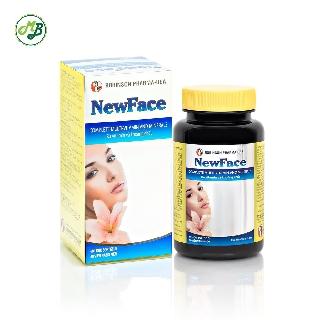 Viên uống Bổ sung Sắt ,DHA, Vitamin và Khoáng Chất , Cân bằng nội tiết tố - NEWFACE - MediBeauty Lọ 60 viên thumbnail