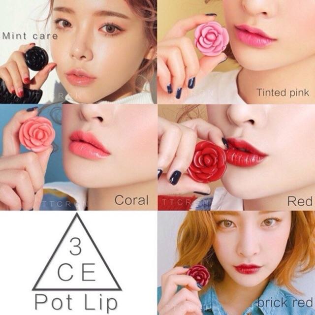 Son dưỡng 3CE Pot Lip